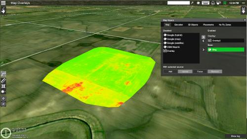 UGCS Pro Map Overlay